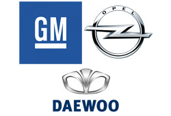 GM, OPEL, DAEWOO