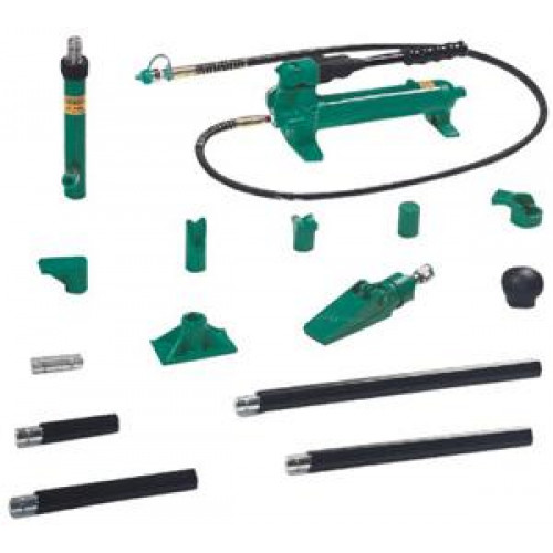 AE010020 JONNESWAY Набор гидроинструмента (4т односкоростной), 18 предметов