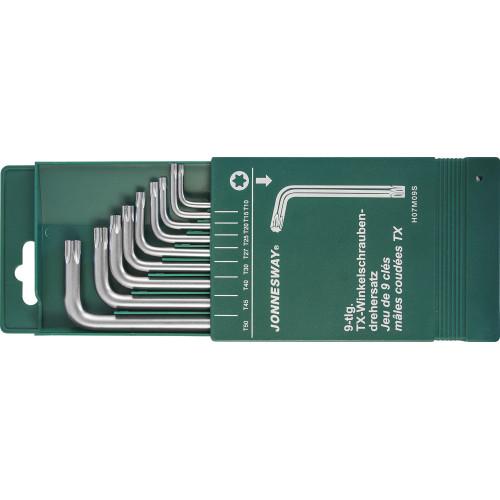 H07M09S JONNESWAY Комплект угловых ключей Torx