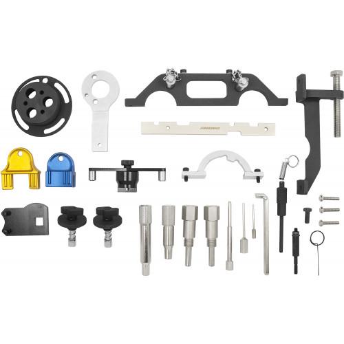 AL010184 JONNESWAY Универсальный набор приспособлений для ремонта и обслуживания двигателей OPEL