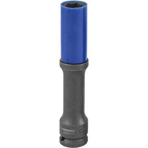 S18AD4117 JONNESWAY Головка торцевая ударная тонкостенная глубокая для колесных дисков 17 мм.