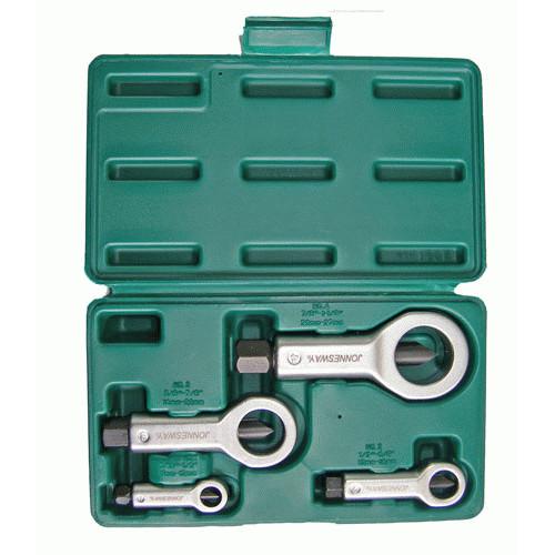 AG010109A JONNESWAY Набор гайколомов 9-27 мм, 4 предмета