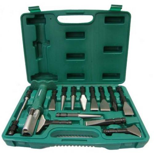 AG010143 JONNESWAY Многофункциональный инструмент со сменными зубилами и выколотками