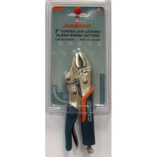 """P32M05C JONNESWAY Ручные тиски """"струбцина"""", 5"""", с прорезиненными ручками"""