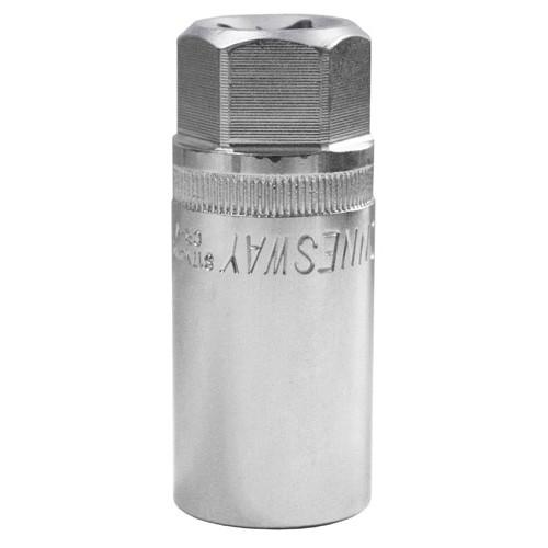"""S17M4121 JONNESWAY Головка торцевая свечная c магнитным держателем 1/2"""" 21 мм"""