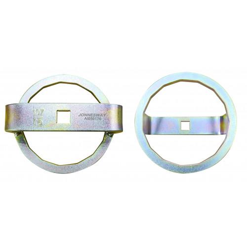 """AI050170 JONNESWAY Ключ масляного фильтра 1/2"""" 107 мм, 15 граней, для грузовых автомобилей VOLVO"""