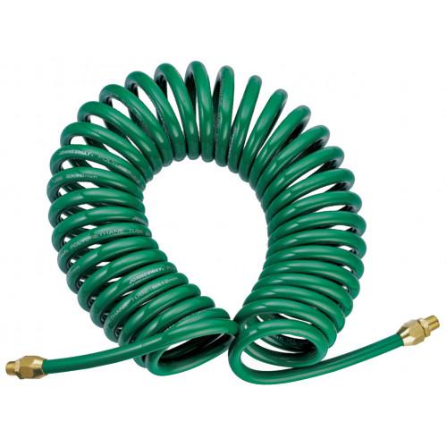 JAZ-7214J JONNESWAY Шланг спиральный для пневмоинструмента, 8 мм х 12 мм х 13 м