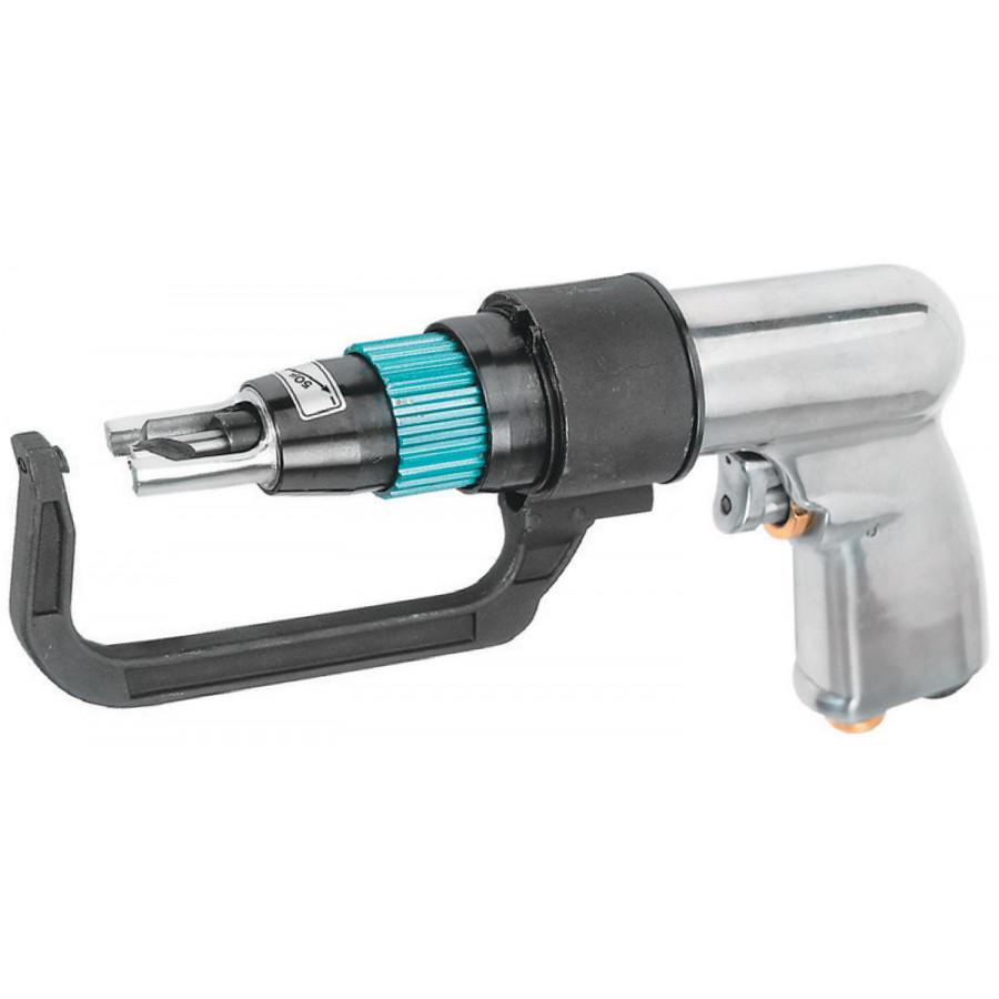 JAD-1015K JONNESWAY Набор: дрель пневматическая для удаления сварочной точки 1800 об./мин., сверла и фильтр, 9 предметов