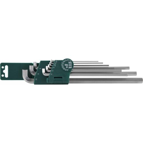 H03SS109S JONNESWAY Набор ключей торцевых шестигранных удлиненных для труднодоступных мест, Н1,5-Н10, 9 предметов