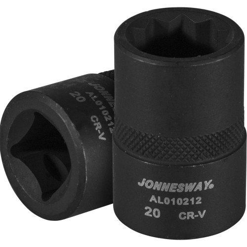 """AL010212 JONNESWAY Торцевая головка 10-гранная 1/2""""DR для продольных рычагов задней подвески HONDA CR-V"""