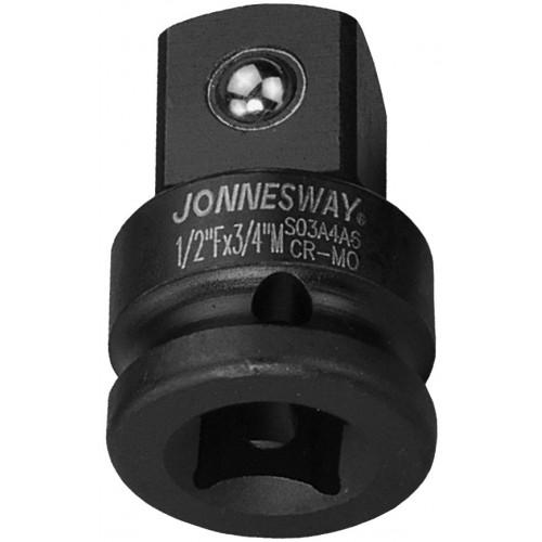 "S03A4A6 JONNESWAY Адаптер-переходник для ударного инструмента F-1/2"", M–3/4"""