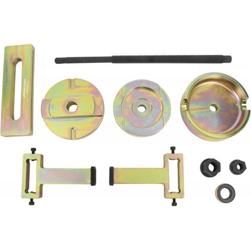 AN050023 JONNESWAY Набор приспособлений для снятия и установки сайлентблоков заднего подрамника BMW X5 (E53)