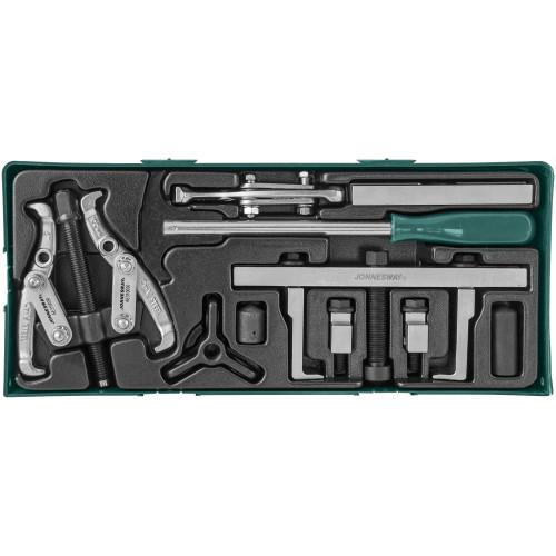 AI10002SP JONNESWAY Набор съемников и приспособлений для обслуживания приводных шкивов (ложемент)