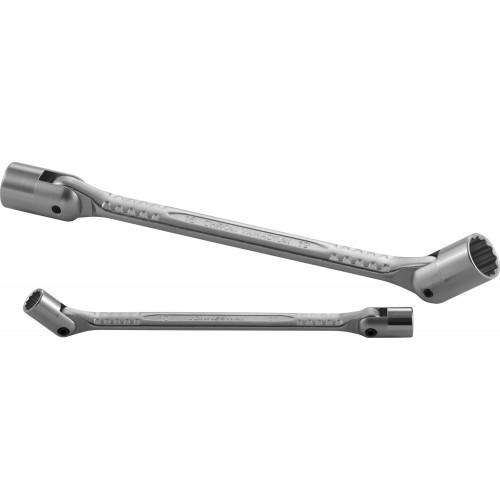 W43A1719 JONNESWAY Ключ с шарнирными торцевыми головками (карданный) 17х19 мм