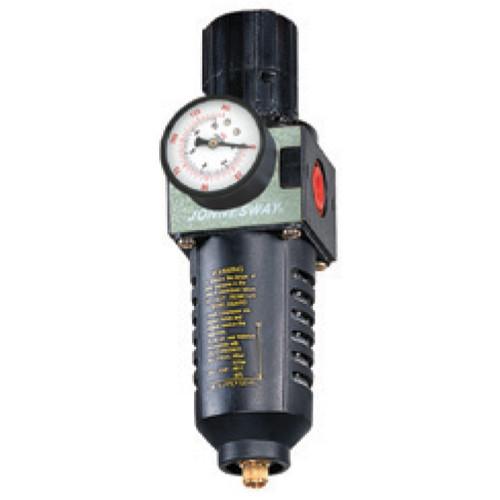 """JAZ-6714 JONNESWAY Фильтры (влагоотделители) с регулятором давления для пневмоинструмента, 1/4"""""""