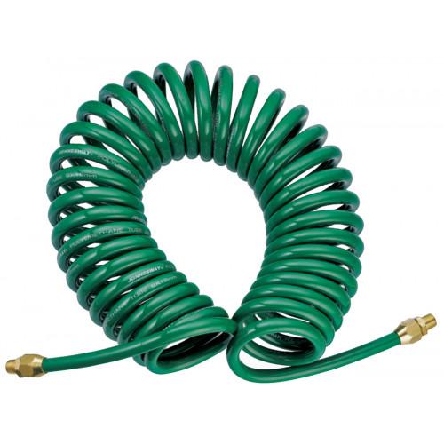 JAZ-7214E JONNESWAY Шланг спиральный для пневмоинструмента, 5 мм х 8 мм х 8 м