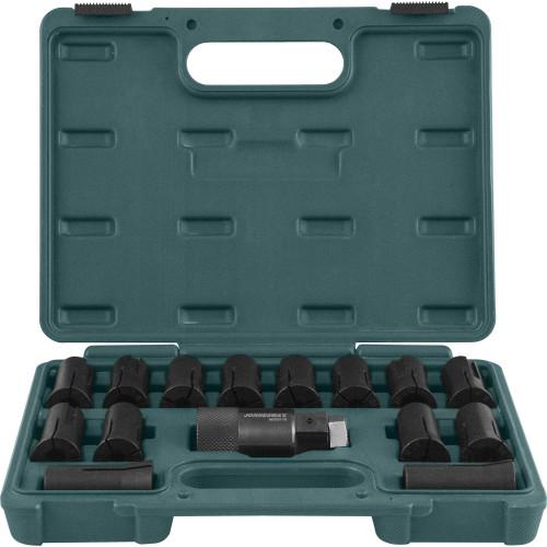 AI020118 JONNESWAY Набор для демонтажа и установки резьбовых метрических шпилек М6х1-М16х2, 14 предметов.