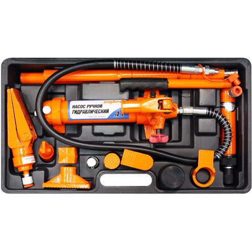 OHT948M Ombra Набор гидравлического инструмента для кузовного ремонта 4 т. 18 предметов