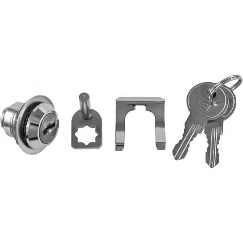 OTT47-001CR Ombra Замок с двумя ключами для тележки OMBRA