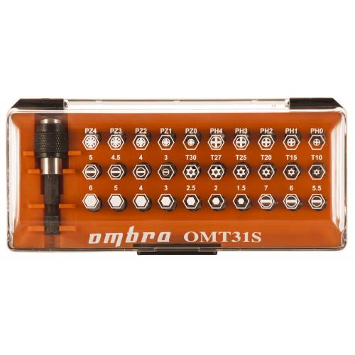 OMT31S Ombra Набор вставок-бит, 31 предмет