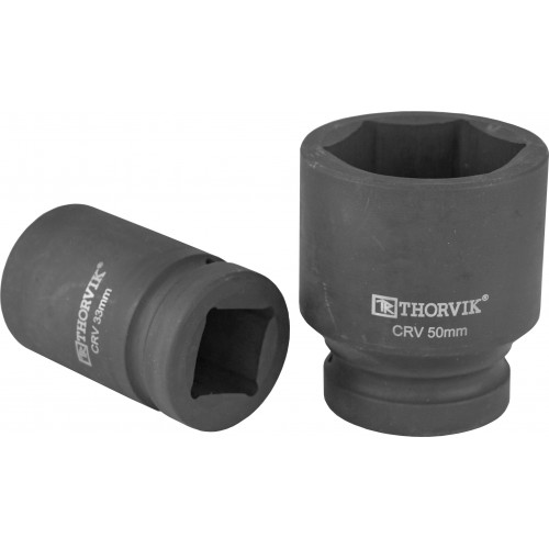 """LSWS00134 Thorvik Головка торцевая для ручного гайковерта 1"""" 34 мм"""